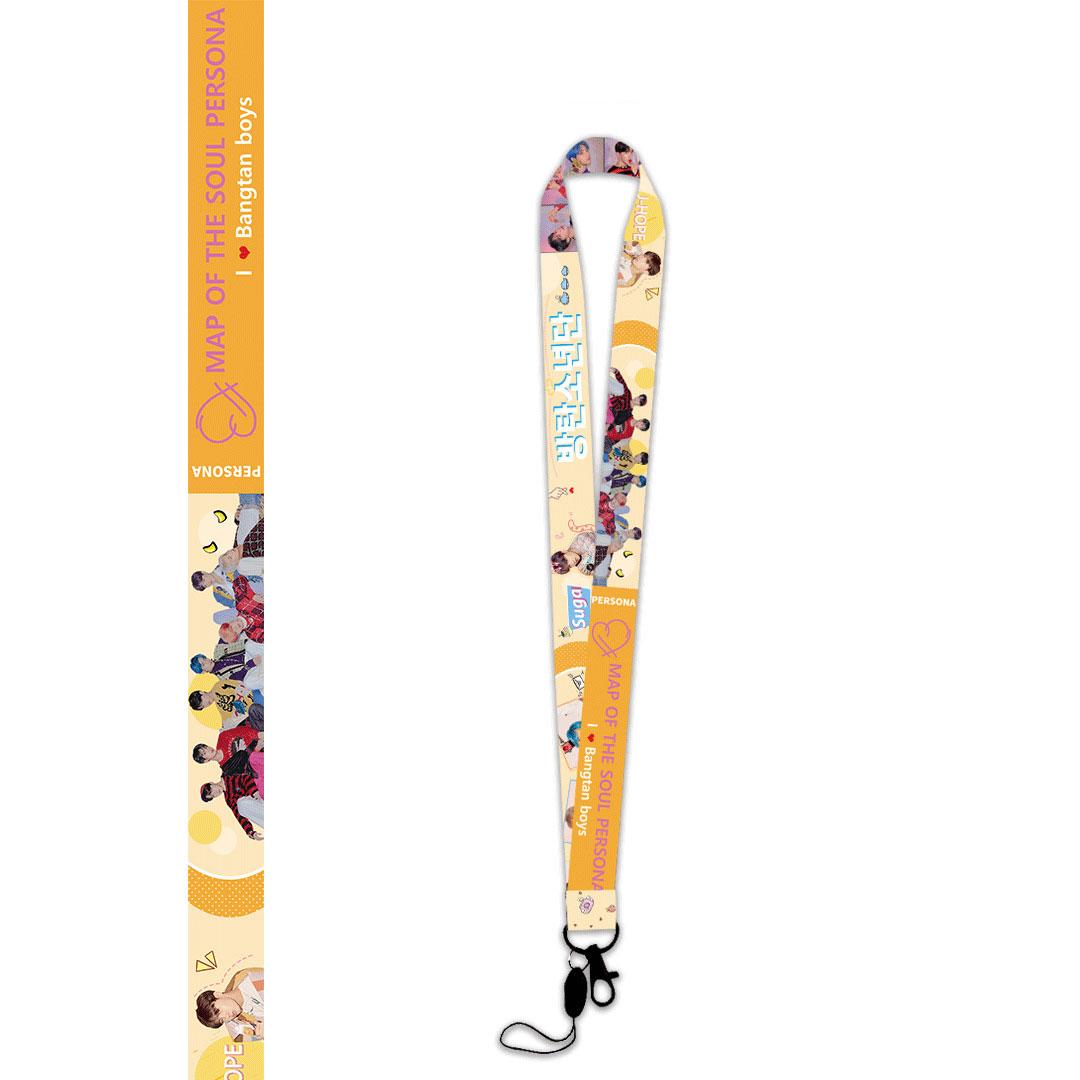 Set dây đeo thẻ đồ dùng BTS tặng bút kéo BTS