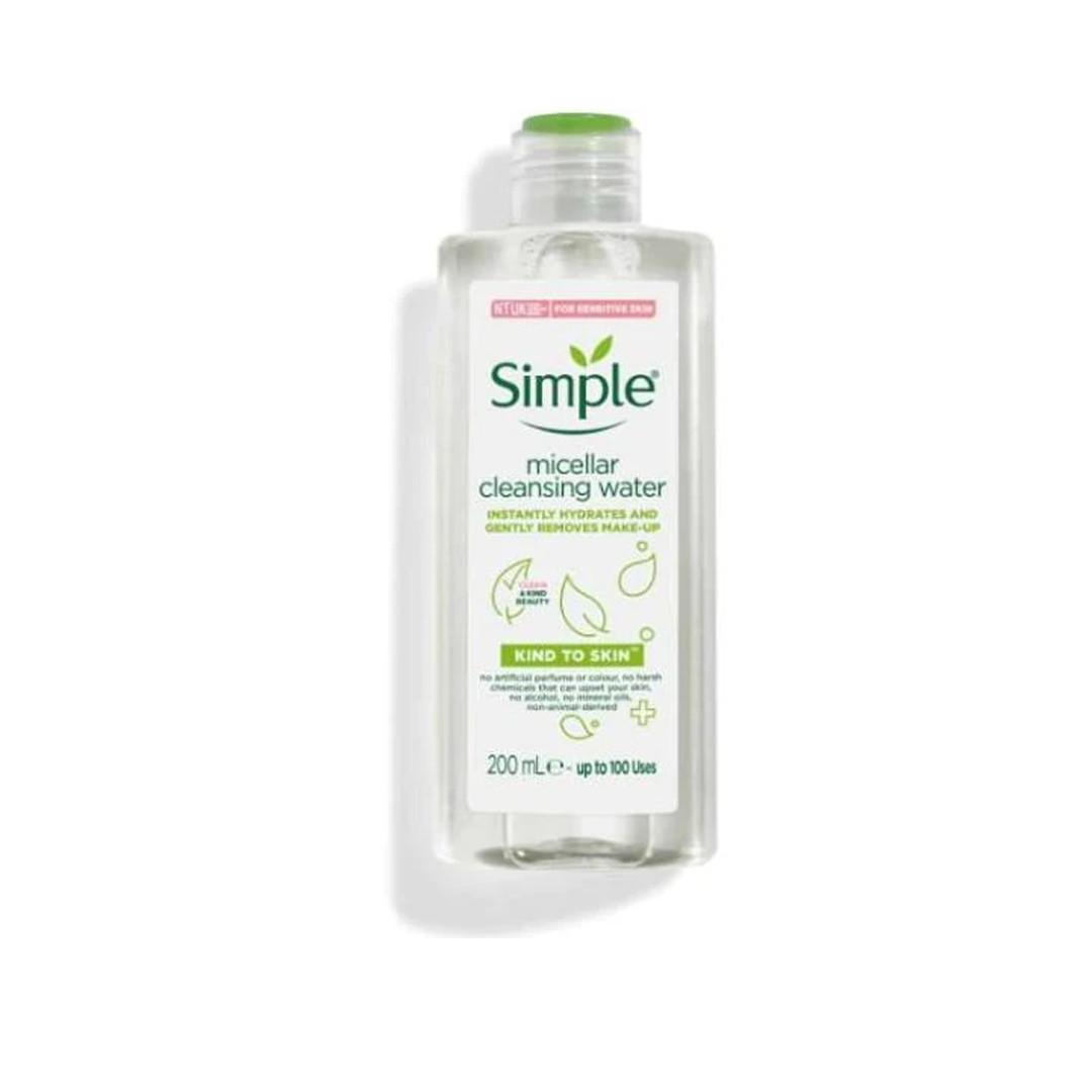 Nước tẩy trang Simple Kind To Skin Cleansing Water Micellar 200ml