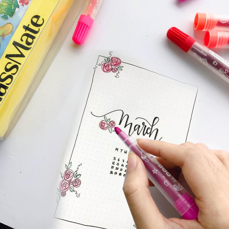Classmate- Bút lông màu classmate- Túi bút lông màu classmate có 12 màu ( CL-WC111 )