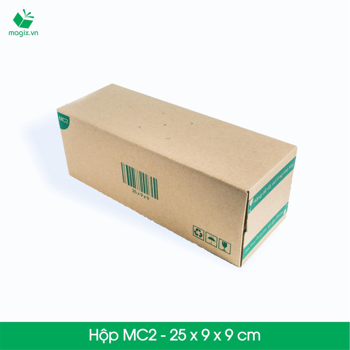 MC2 - 25x9x9 cm - 20 Thùng hộp carton