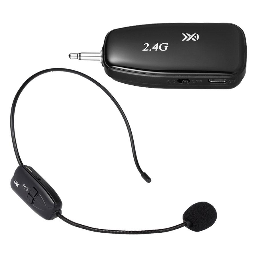 Microphone Gài Tai Không Dây 2.4G XXD-G18 - Hàng nhập khẩu