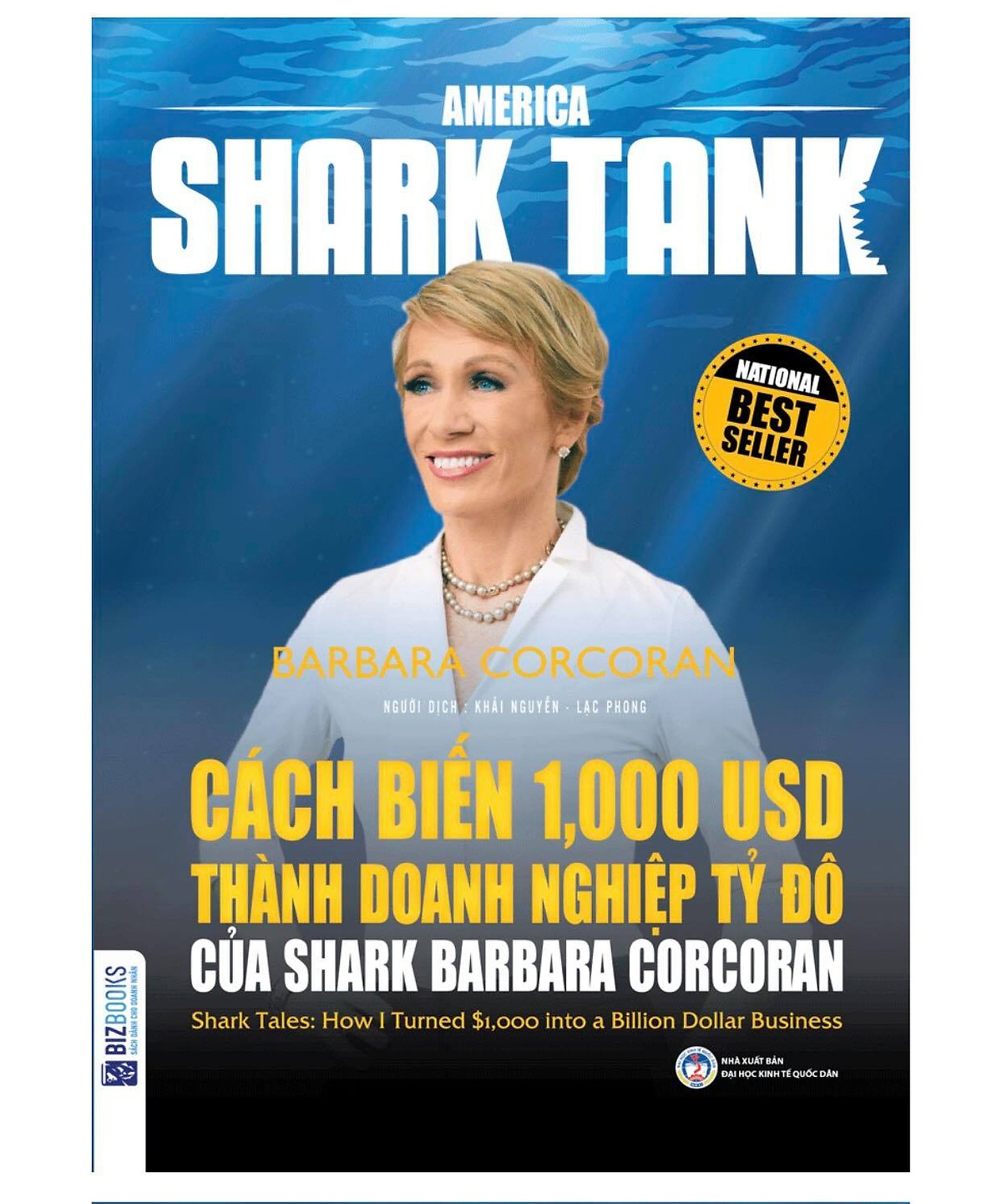 Combo Trọn Bộ 6 Cuốn America Shark Tank ( Bùng Nổ Bán Hàng Cùng Shark Robert Herjavec , Cách Biến 1.000 USD Thành Doanh Nghiệp Tỷ Đô Của Shark Barbara Corcoran , Cách Biến Ý Tưởng Triệu Đô Thành Hiện Thực Của Shark Lori Greiner , Rèn Luyện Ý Chí Chiến Thắng Cùng Shark Robert Herjavec , Thành Công Trong Kinh Doanh Và Cuộc Sống Cùng Shark Robert Herjavec , Bí Quyết Kinh Doanh Của Shark Mark Cuban tặng cuốn Không Phải Thiếu May Mắn Chỉ Là Chưa Cố Gắng