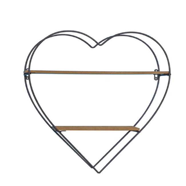Kệ trang trí treo tường hình trái tim