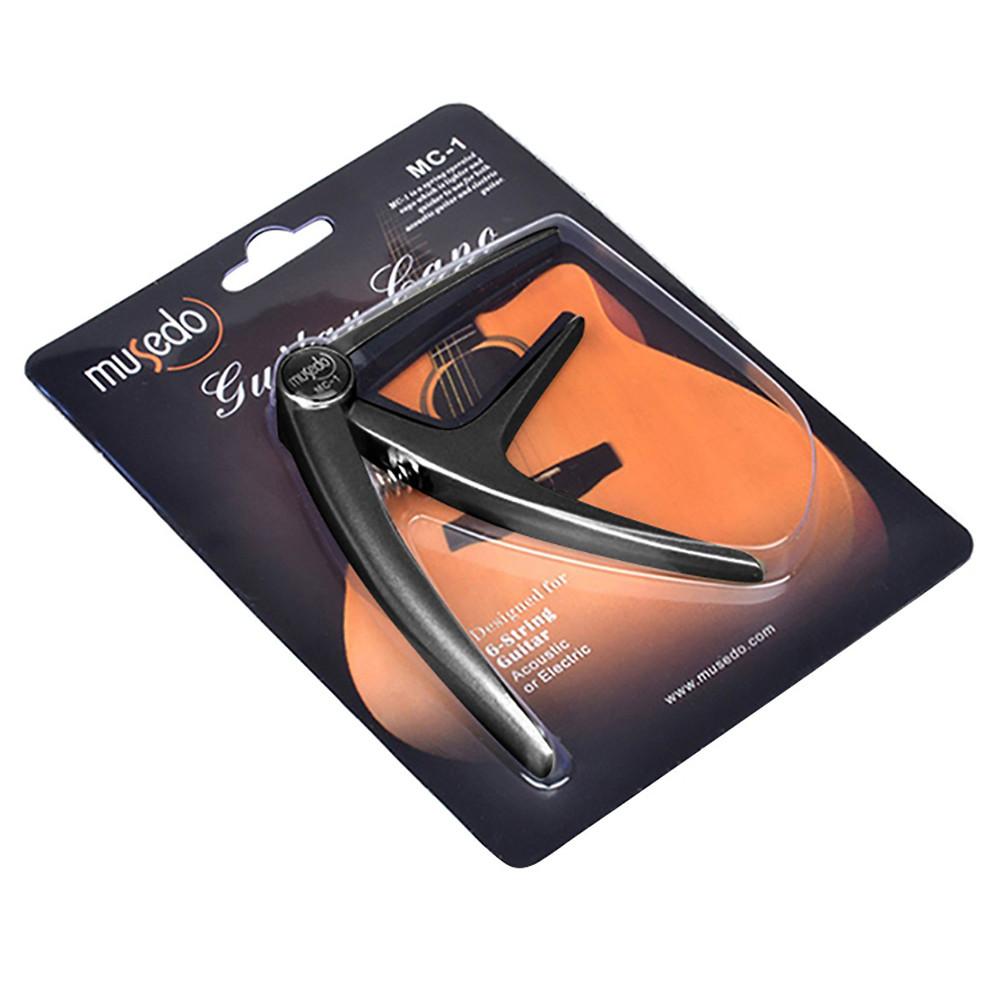 Capo Đàn Guitar Acoustic Musedo MC-1 - Black