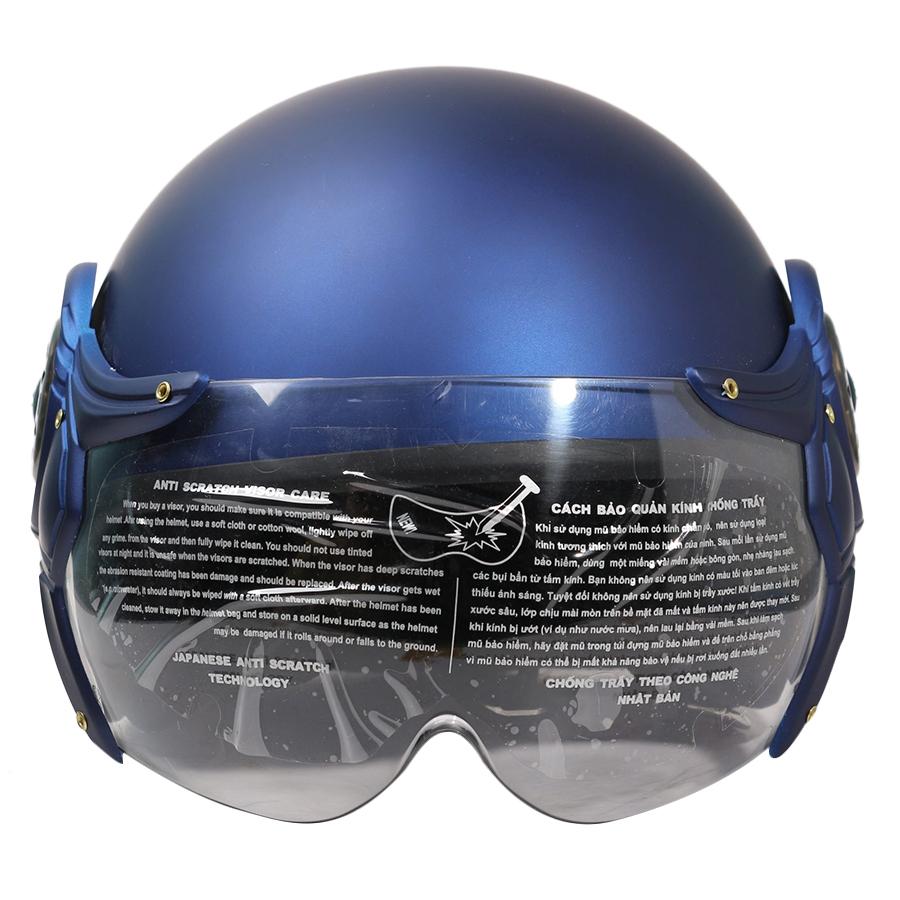 Mũ Bảo Hiểm ½ Chita CT28 Kính Màu