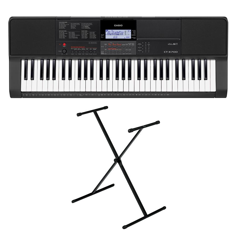 Bộ Đàn Organ Casio CT-X700 Kèm Chân X