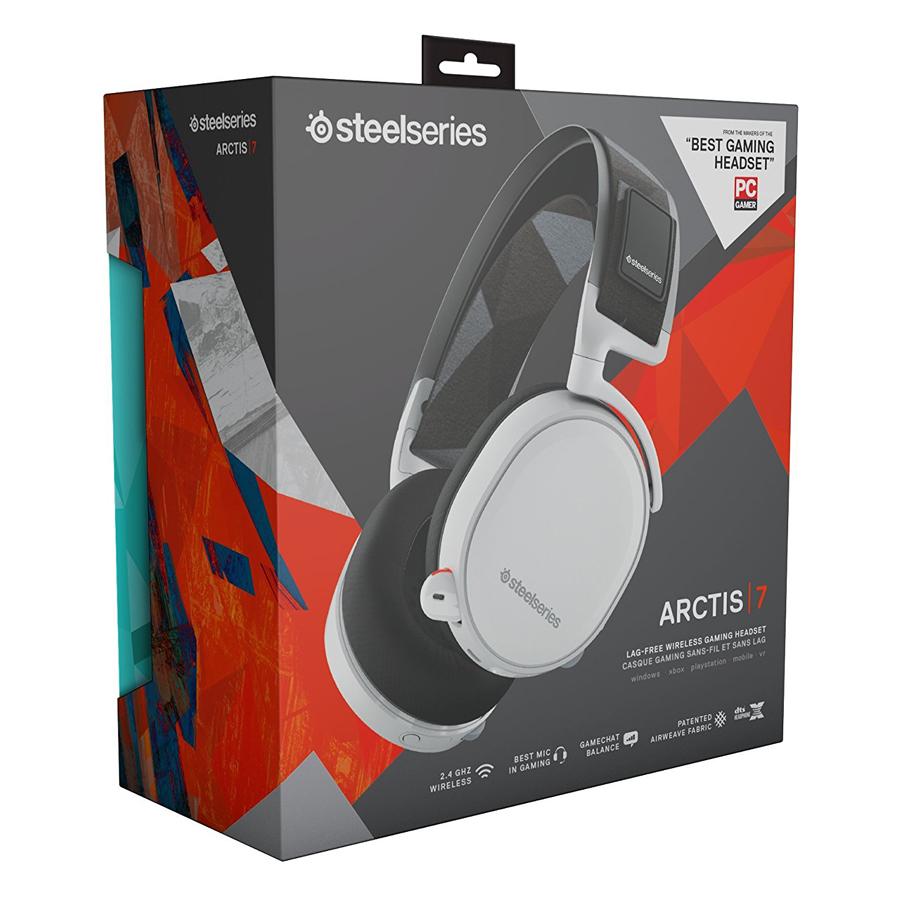 Tai Nghe Gaming SteelSeries Arctis 7 DTS.X 7.1 - Hàng Chính Hãng