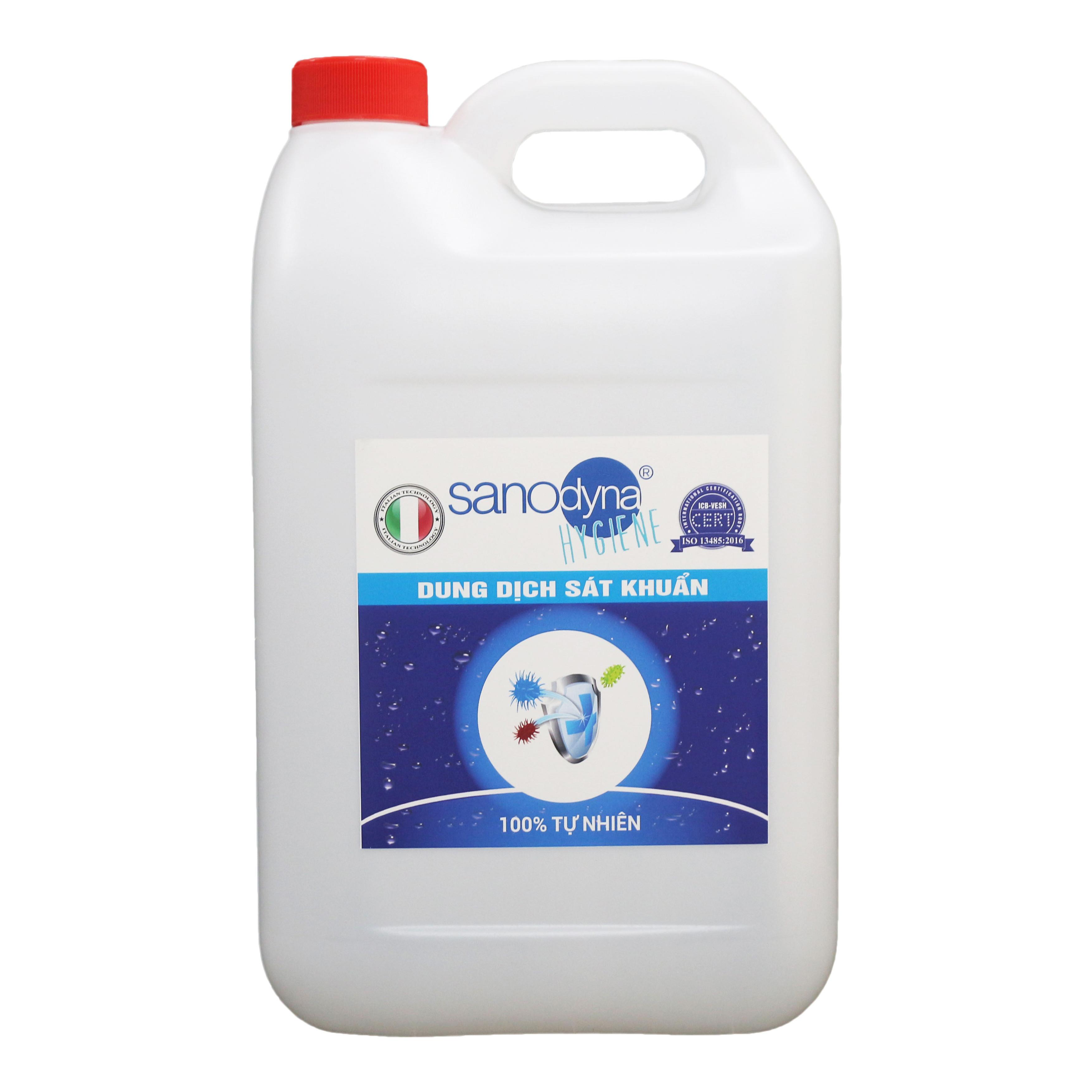Dung dịch sát khuẩn 100% tự nhiên Anolyte thương hiệu Sanodyna xuất xứ ITALIA