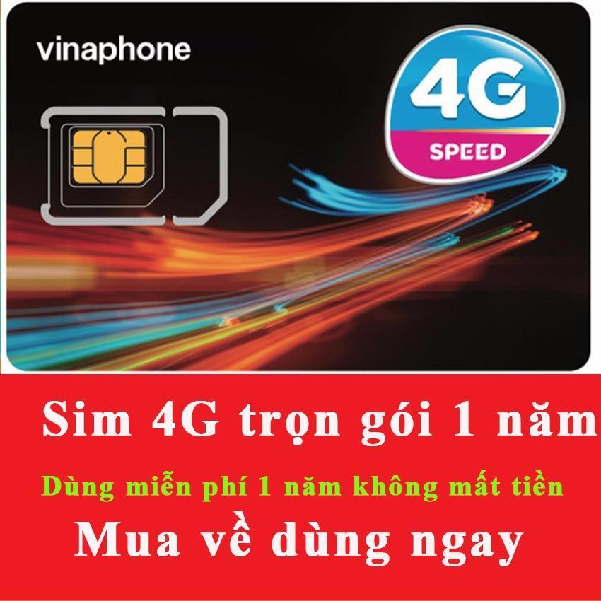 Sim 4G Vinaphone D500 Vào Mạng Trọn Gói 1 Năm Miễn Phí Không Nạp Tiền - Mẫu ngẫu nhiên