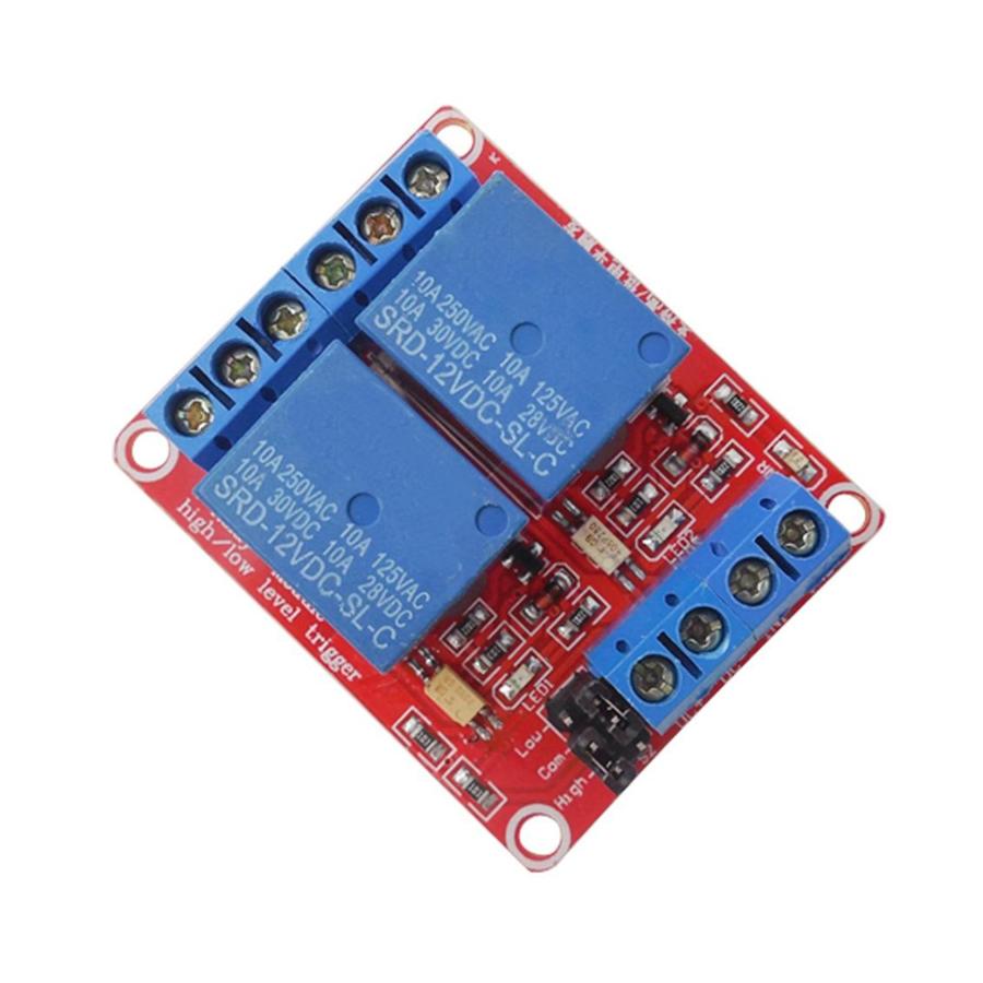 Module Relay 12VDC 2 Kênh H/L