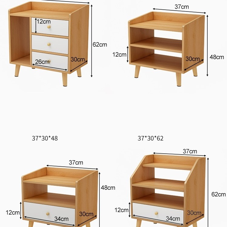 Kệ Tủ Đầu Giường HK32D SPEVI Phong Cách Châu Âu Sang Trọng, Phù Hợp Cho Mọi Kiểu Nhà, Sản Phẩm Nội Thất Lắp Ráp Thông Minh