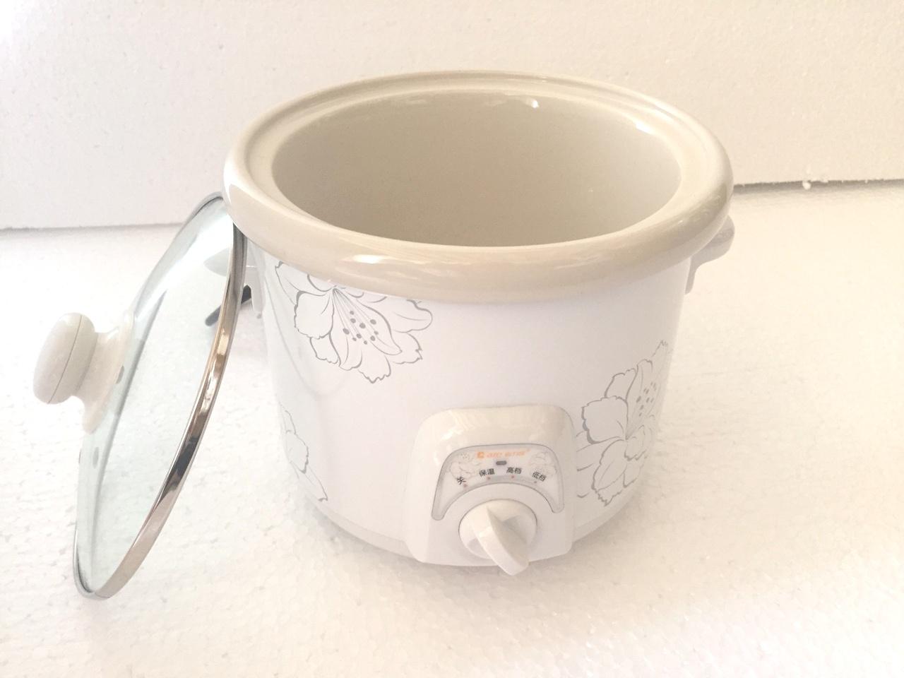 Nồi tiềm yến, nấu cháo,... DDG-15A 1,5L Nắp kính cao cấp + Tặng kèm 10 muỗng súp inox