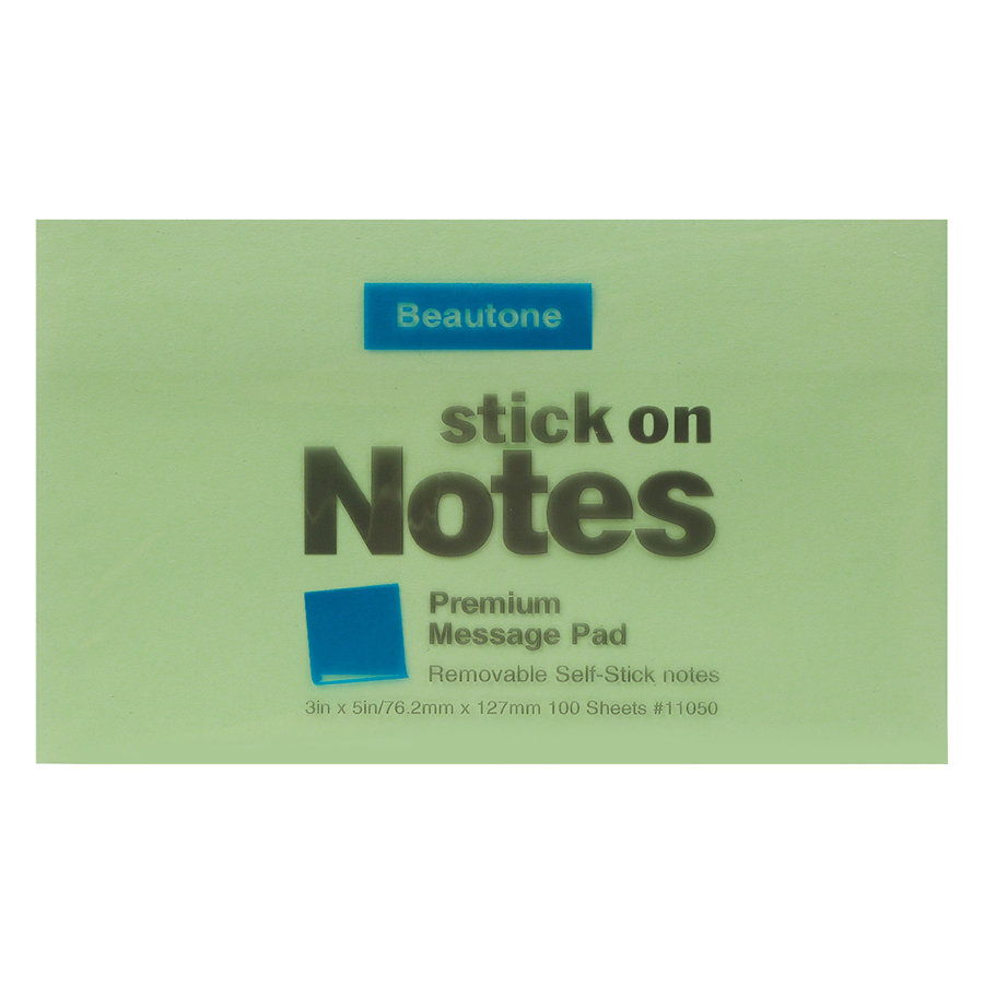 Lốc 6 Xấp Giấy Note Beautone (76.2 x 127 mm) - Màu Ngẫu Nhiên