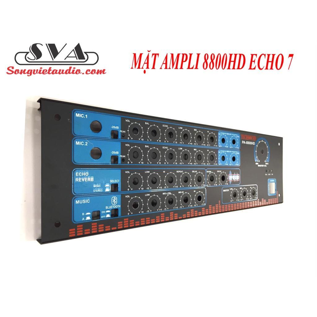 MẶT AMPLI 8800 HD ECHO 7