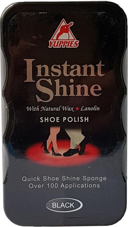 Đánh bóng nhanh đồ da đen Yuppies Instant Shine Shoe Polish - Black (Malaysia)