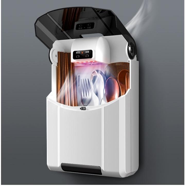 Máy sấy và khử khuẩn đũa thìa bằng tia UV cao cấp tránh tình trạng ẩm mốc giúp bảo vệ sức khỏe