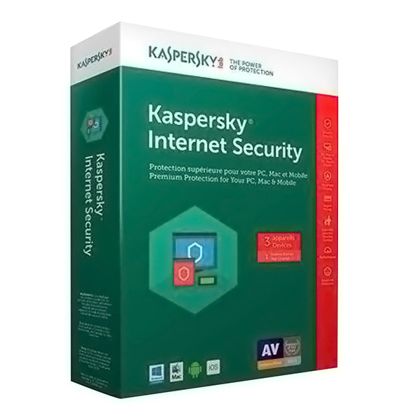 Phần Mềm Diệt Virus Kaspersky Internet Security 1 User /12T - Hàng Nhập Khẩu