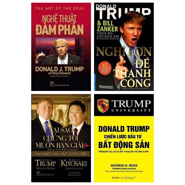 Combo Sách Của Tổng Thống Donald Trump (Bộ 4 Cuốn)