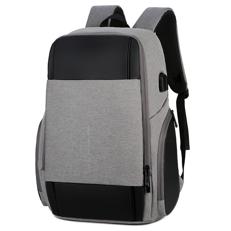 Balo Laptop Thời Trang Đa Chức Năng Không Thấm Nước Tích Hợp Sạc USB Ngolas B027
