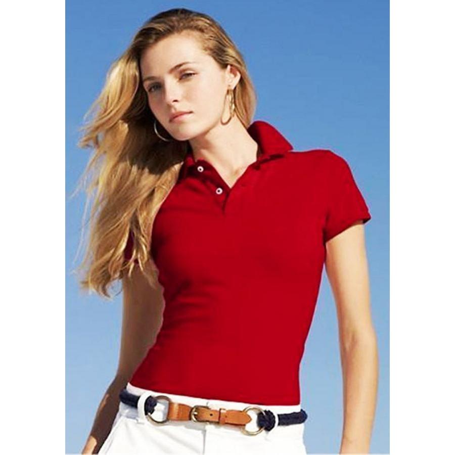 Áo polo tay ngắn nữ TD03 1 Đỏ - Size M