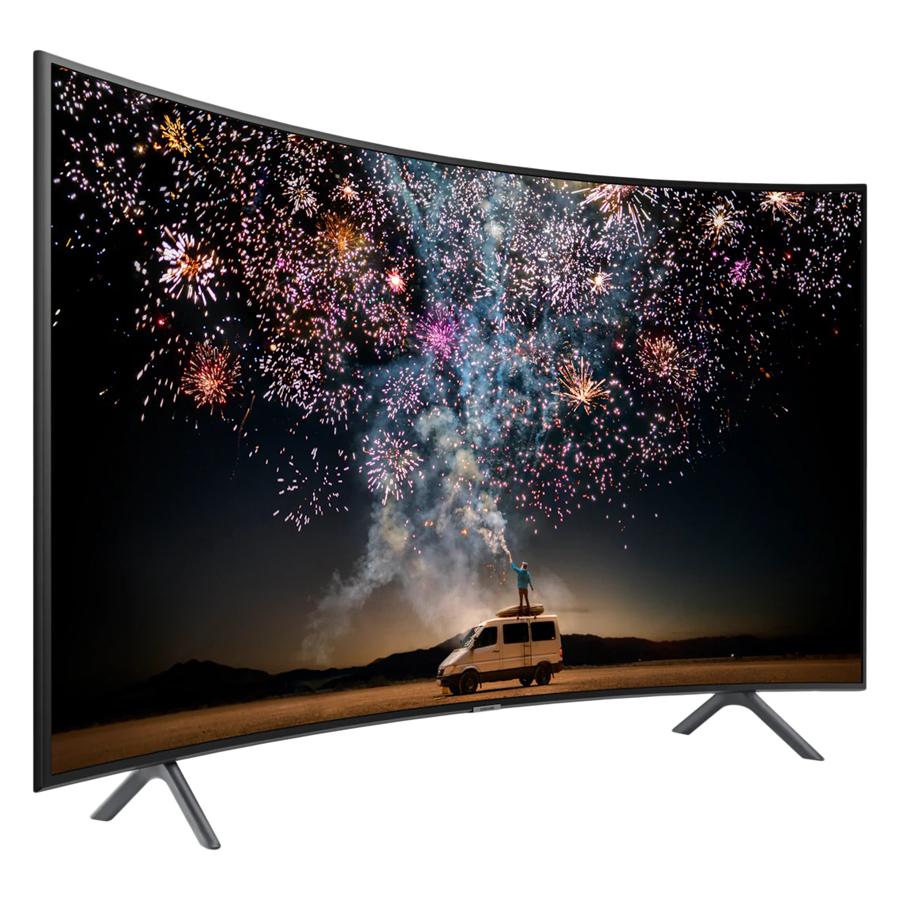 Smart Tivi Màn Hình Cong Samsung 55 inch 4K UHD UA55RU7300KXXV - Hàng Chính Hãng