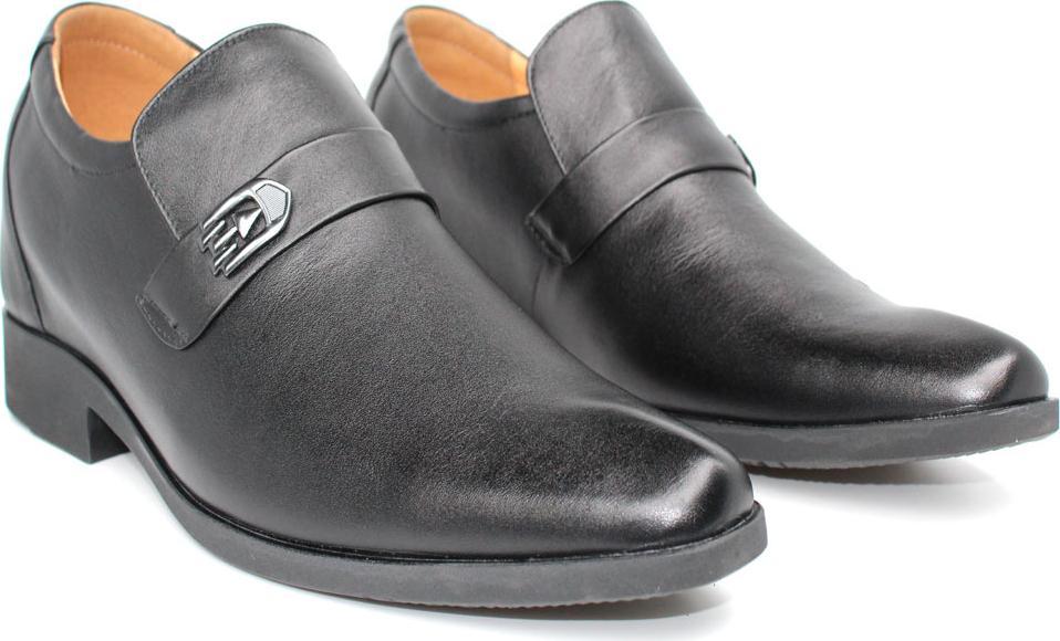 Giày tăng chiều cao nam 6cm da bò Rozalo R6626