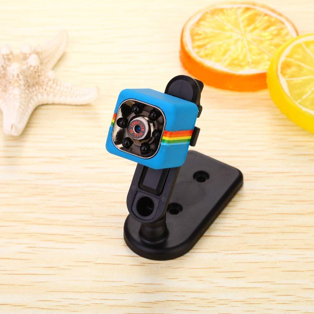 Camera Hành Trình Siêu Nhỏ Quay Đêm Hồng Ngoại Tầm Nhìn Xa Phân Giải Cao SQ11 Full HD 1080 12M