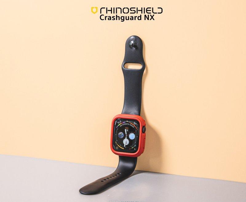 Ốp Apple Watch Rhinoshield Cash Guard NX USA_Đỏ_40mm_Hàng nhập khẩu
