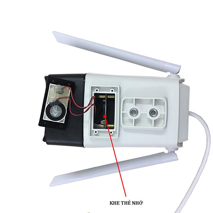 Camera Giám Sát Yoosee X6100 - Camera Ngoài Trời Độ Phân Giải Full HD1080P - Hàng Chính Hãng
