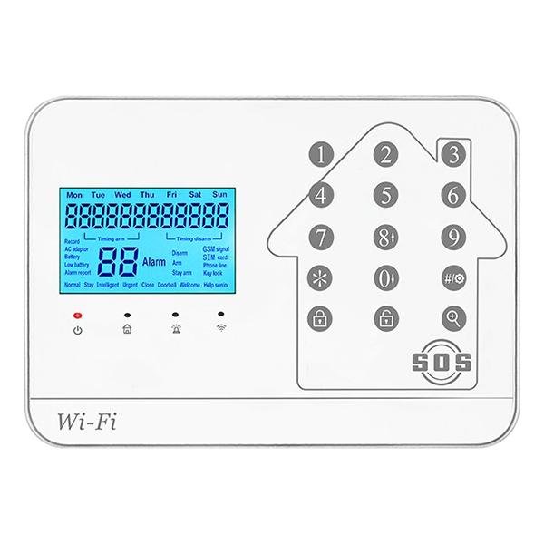 Báo Trộm Không Dây Dùng Sim + Dây Điện Thoại + Wifi Kèm Theo Camera IP Yoosee 20MP - FC-W50Cam