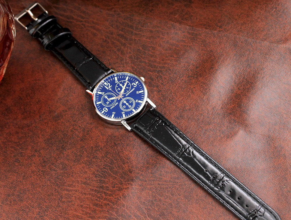 Đồng hồ thời trang nam quai dây da cực đẹp phong cách thời trang hot hit sành điệu siêu đẹp DH97