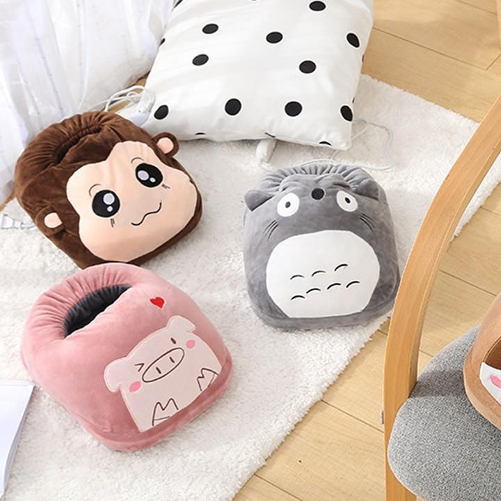 Máy sưởi chân hình thú - Máy sưởi chân mini