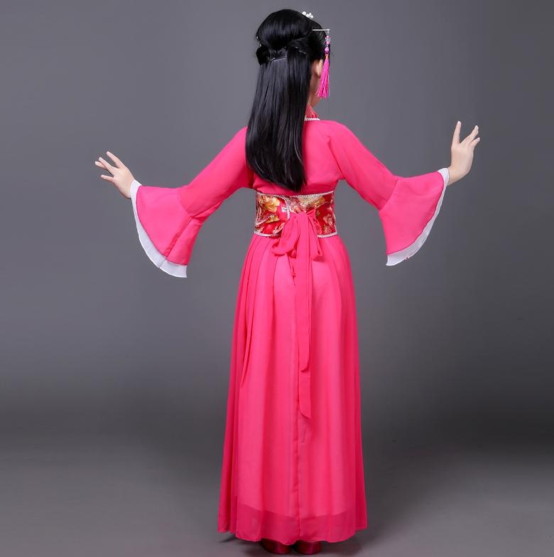 Trang Phục Hằng Nga Trẻ Em Bộ Trang Phục Tiên Nữ Công Chúa Dành Cho Bé Gái Theo Phong Cách Cổ Trang Trung Quốc