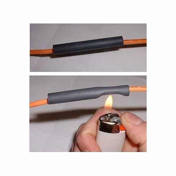 Bộ 5 ống gen co nhiệt , cách điện phi 2,3,4,5,6 (chiều ống dài 1 mét)