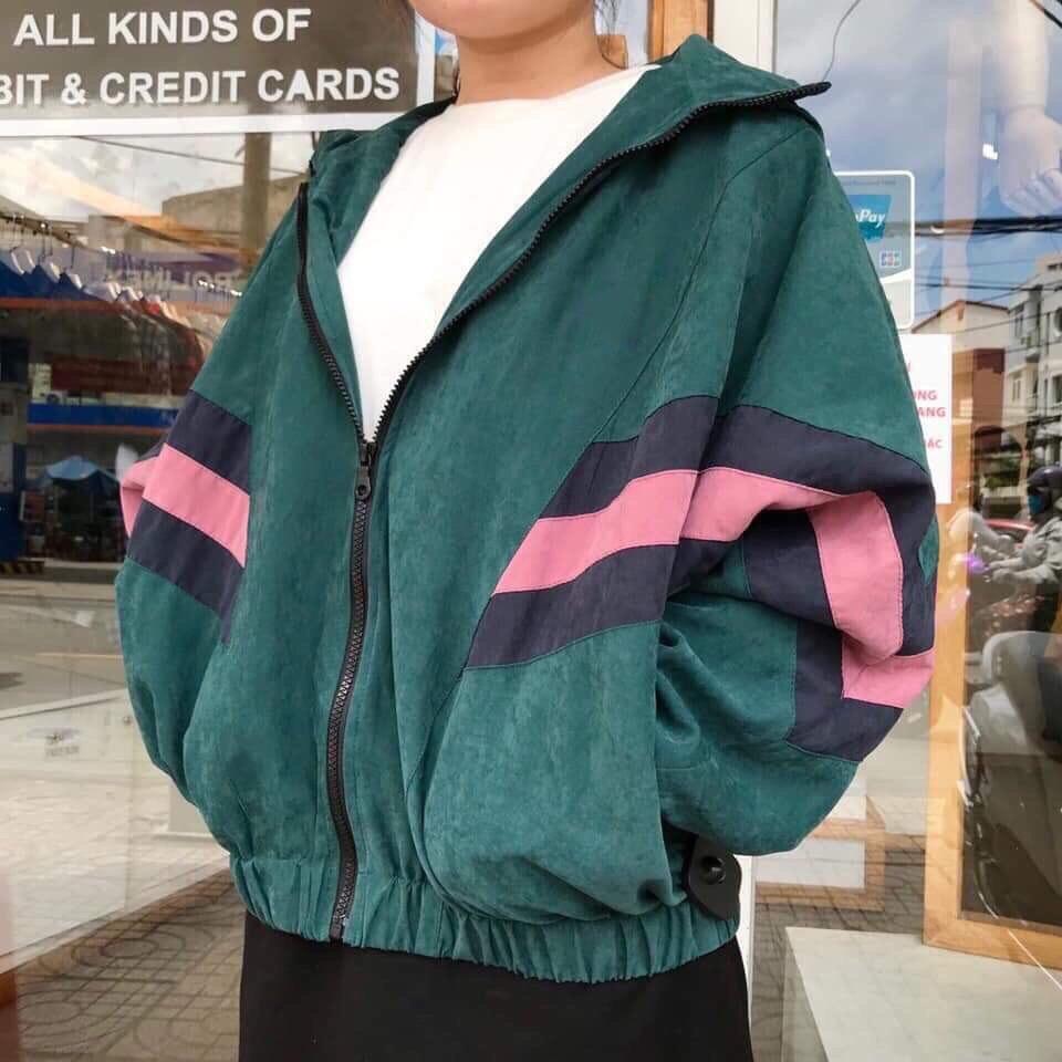 áo khoác dù dành cho nam nữ thời trang cao cấp 2019
