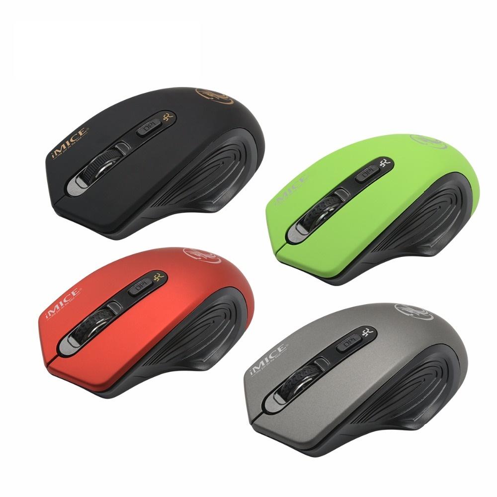 CHUỘT KHÔNG DÂY IMICE E1800 Wireless 2.4Ghz 2000DPI Cao Cấp - HÀNG NHẬP KHẨU (Giao màu ngẫu nhiên)