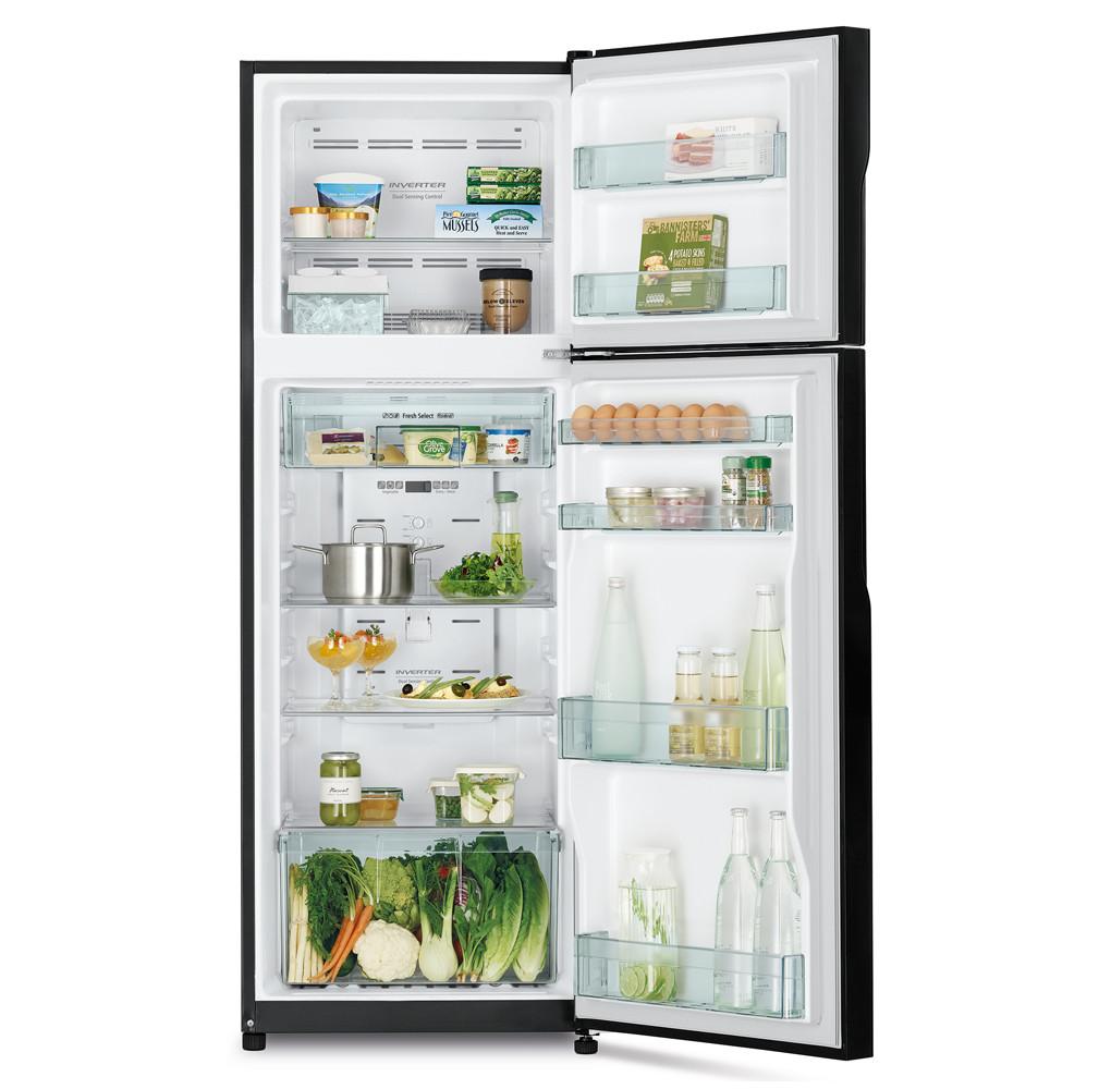Tủ Lạnh Inverter Hitachi R-H350PGV7(BSL) 290 lít - Hàng chính hãng (chỉ giao HCM)