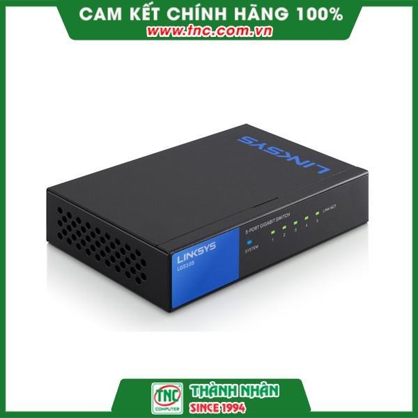 Switch Linksys LGS105- Hàng chính hãng