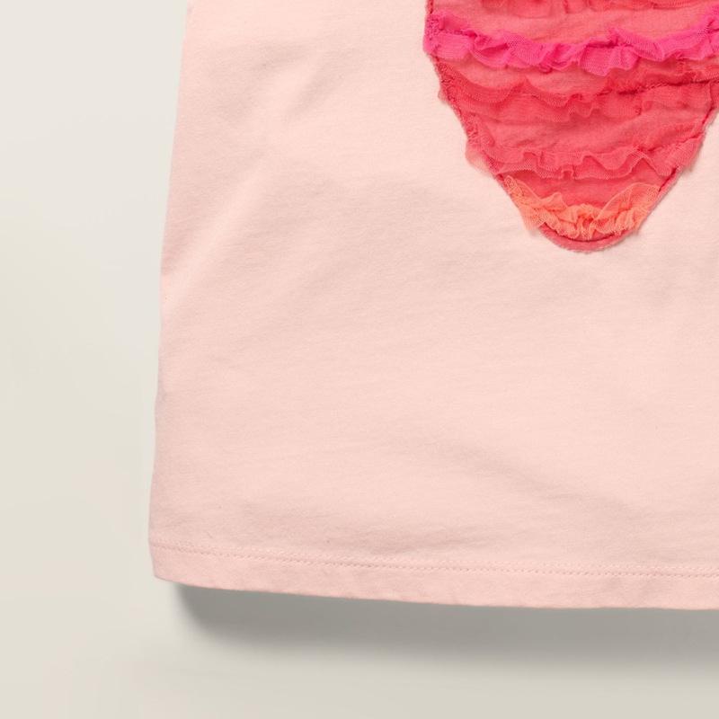 Áo thun bé gái dâu tây hồng sát nách áo bé gái cao cấp cực mềm 1-7T(10-24kg)