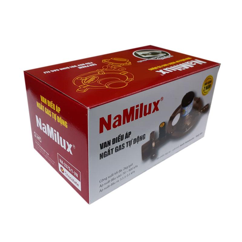 Van áp thấp Namilux NA-337S/1, tặng dây dẫn gss VN, sử dụng cho bình gas đỏ. Hàng chính hãng