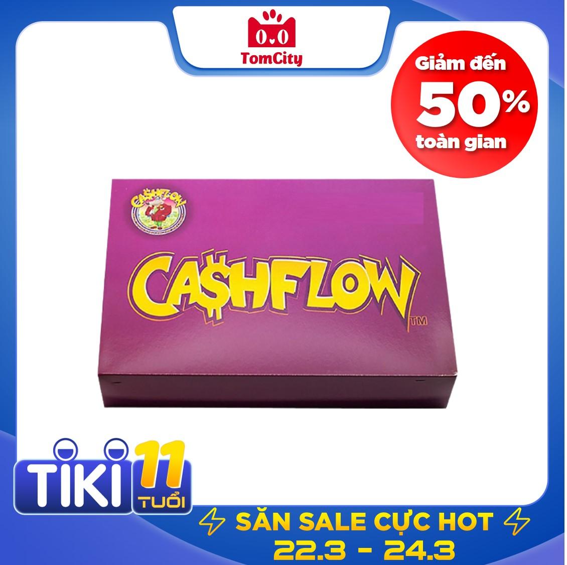 Cashflow 101 game tài chính làm giàu