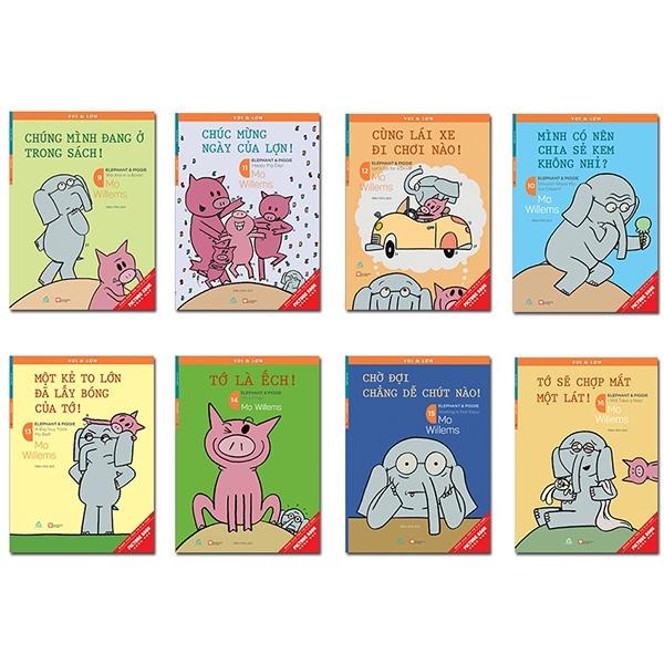 Combo Ehon Voi & Lợn - Tập 9-16 (Bộ 8 Cuốn)