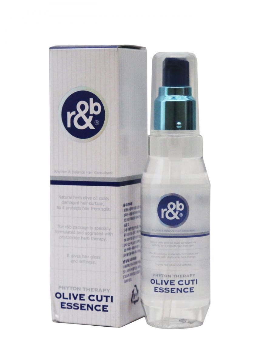 Dầu bóng dưỡng tóc bóng mềm chắc khỏe khỏi chẻ ngọn R&B Olive Cuti Essence, Hàn Quốc 110ml