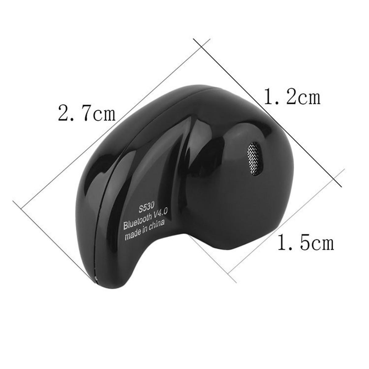 Tai nghe Bluetooth nhét tai hạt đậu nhỏ gọn tiện dụng S530