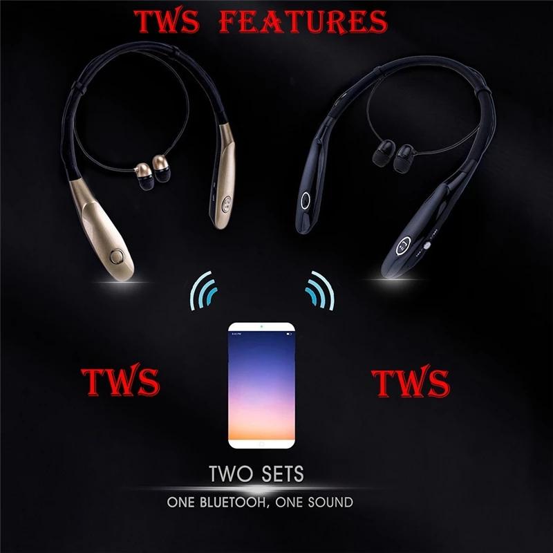 Tai nghe không dây thể thao bluetooth 4.0 pin 10h D900S