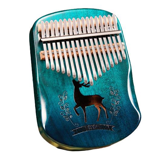 Đàn kalimba 17 phím BYLA-M17 Tặng búa chỉnh âm, stick dán màu, khăn lau đàn, túi chống sốc , đàn kalimba 17 phím JLIM72 nguyên khối