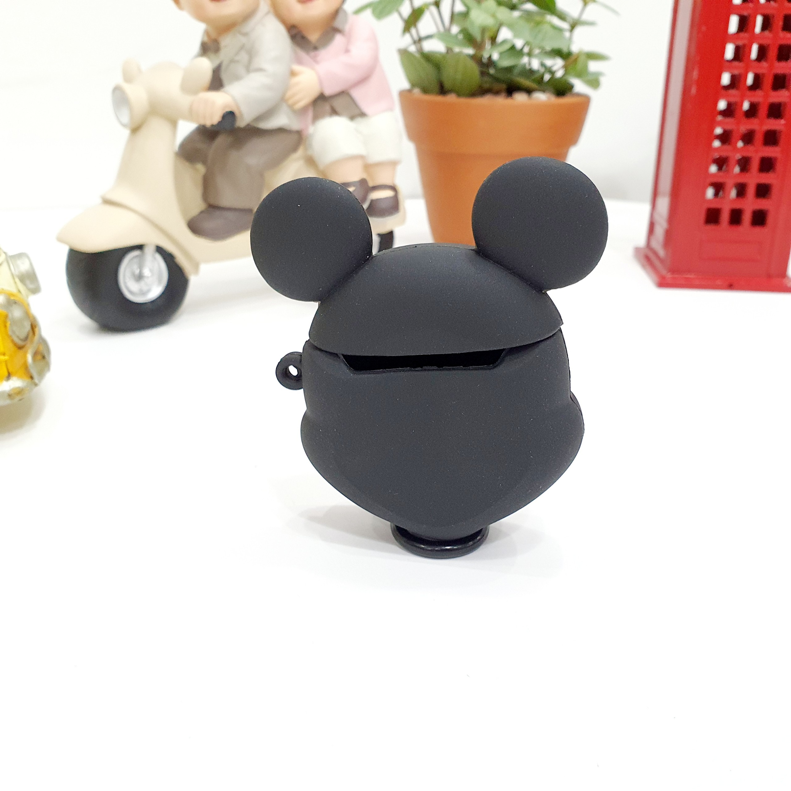 Case Ốp Silicon Bảo Vệ Cho Apple AirPods / AirPods 2 - Chuột Mickey