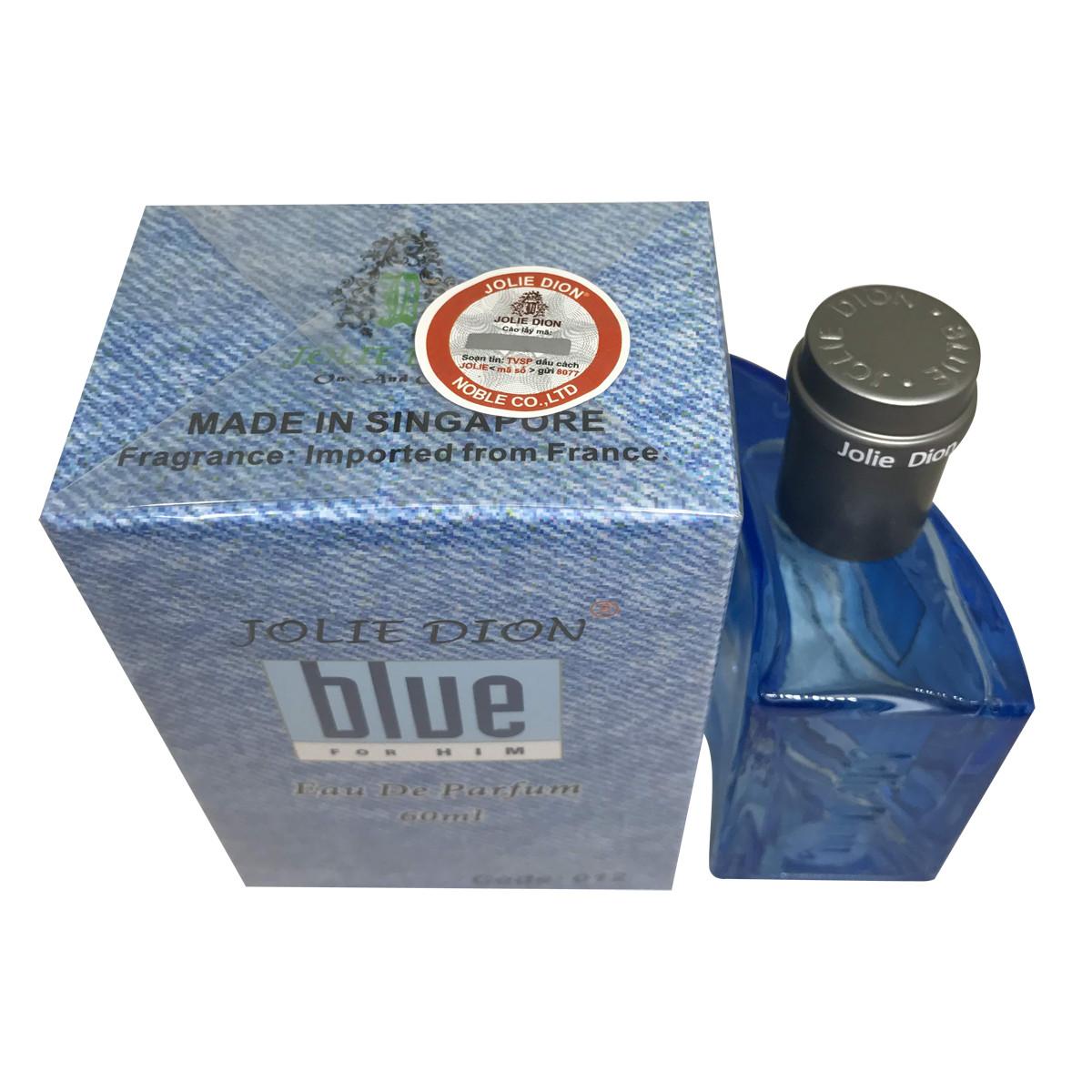 Nước hoa Blue Jolie Dion for Him Eau De Parfum 60ml (Code:012) Made in Singapore