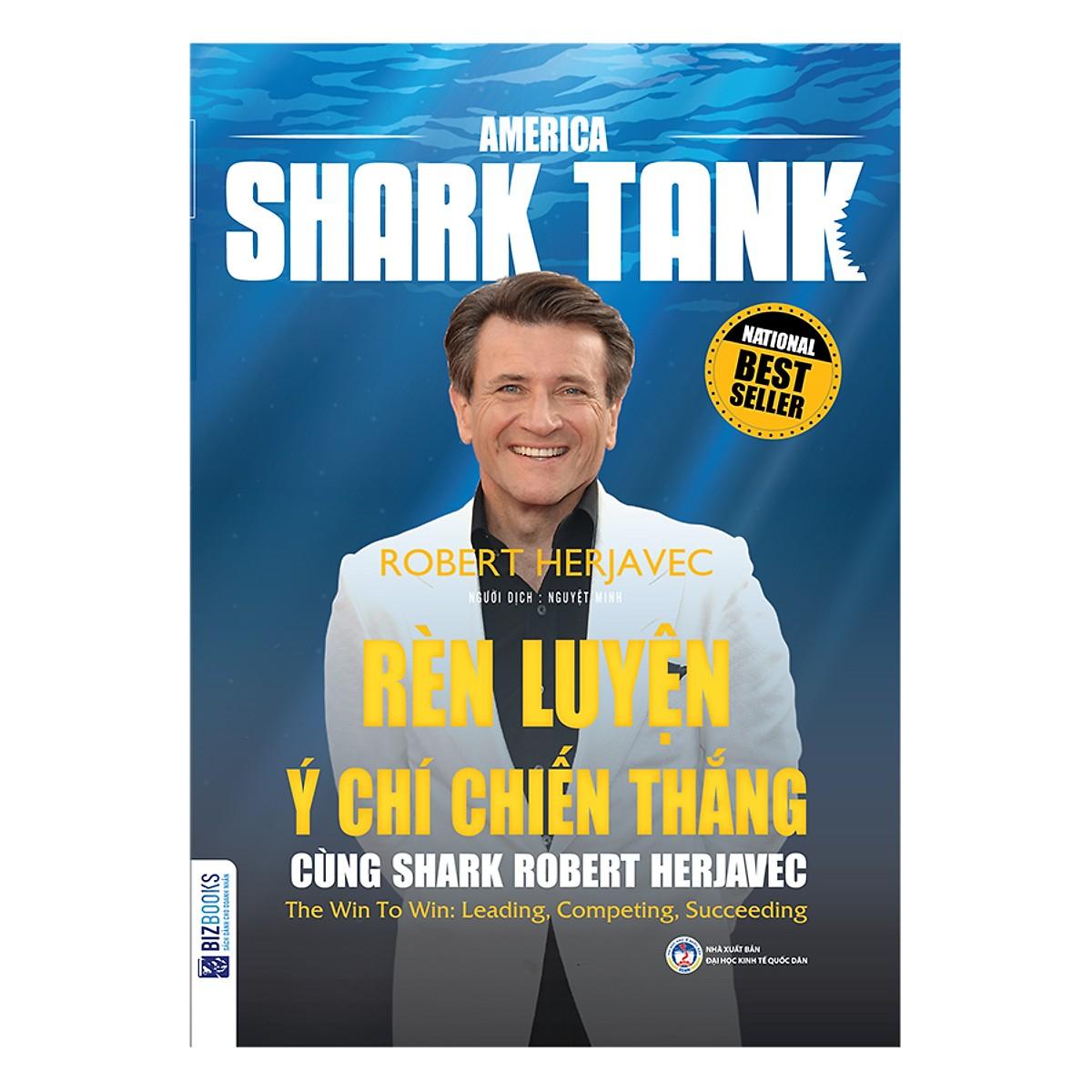 Combo 3 Cuốn Huấn Luyện Kinh Doanh Cùng America Shark Tank(Tặng Bookmark PL)