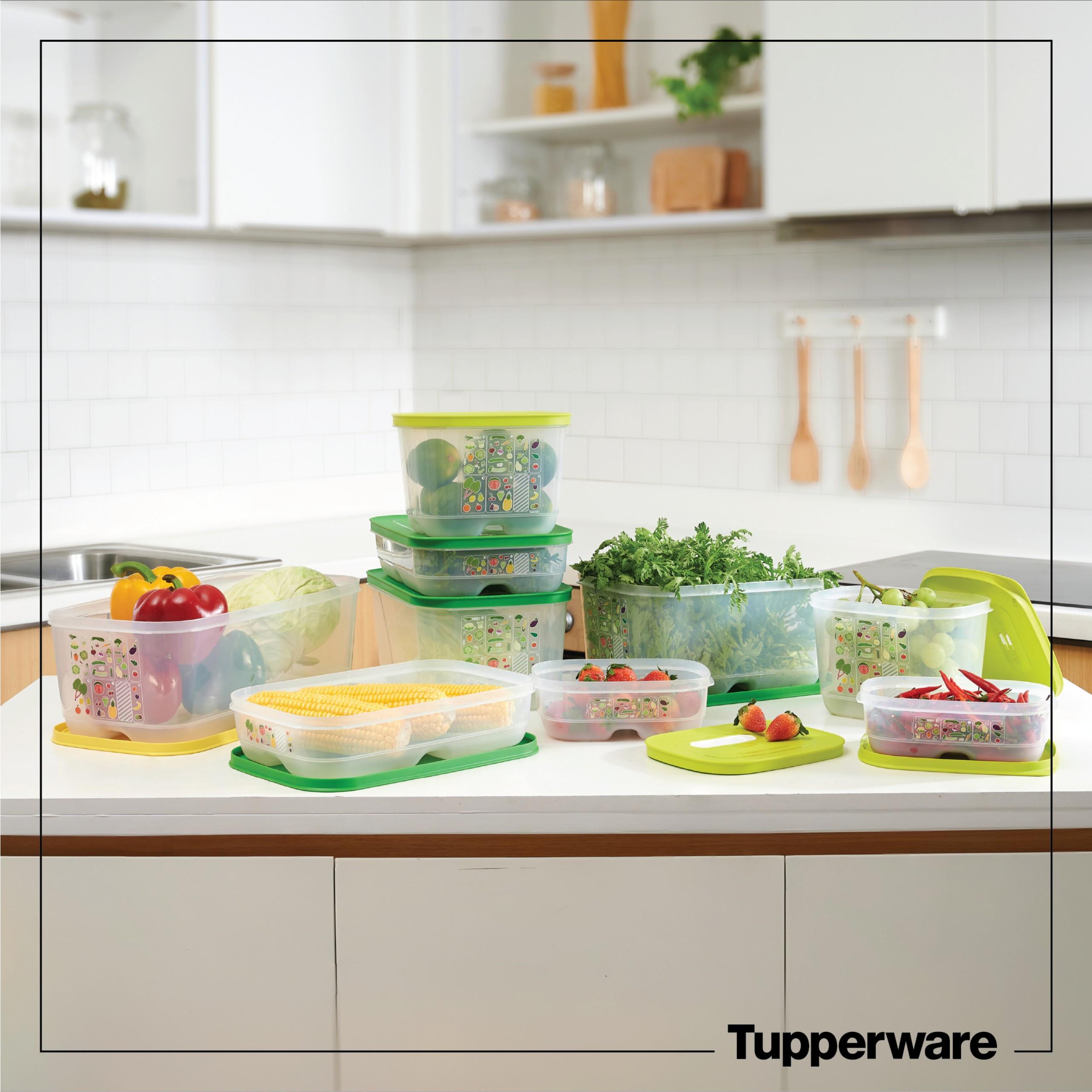 Bộ bảo quản thực phẩm Ventsmart 9 hộp trữ mát Tupperware